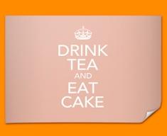 Keep Calm Drink Tea Poster