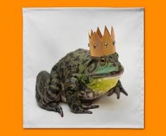 King Frog Napkins (Set of 4)