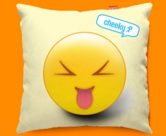 Cheeky Emoticon Funky Sofa Cushion