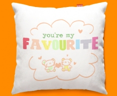 Favourite Typography Funky Sofa Cushion