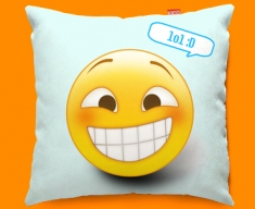 Lol Emoticon Funky Sofa Cushion