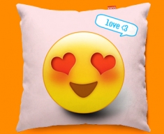 Love Emoticon Funky Sofa Cushion