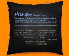 Strength Definition Funky Sofa Cushion