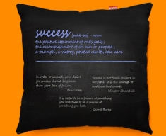 Success Definition Funky Sofa Cushion