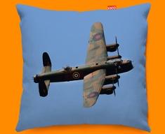 Lancaster Avro Plane Sofa Cushion