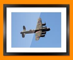 Lancaster Avro Plane Framed Print