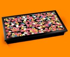 Licorice Allsorts Laptop Lap Tray