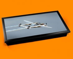 Lightning Lockheed Plane Cushion Laptop Tray