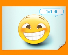 Lol Emoticon Poster