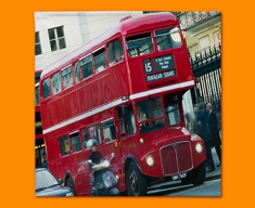 London Bus Napkins (Set of 4)