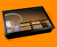 London Eye Cushion Lap Tray