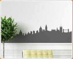London Skyline Wall Sticker