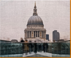 Londons' St Paul Canvas Art Print