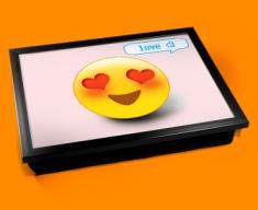 Love Emoticon Lap Tray