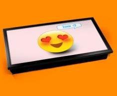 Love Emoticon Laptop Tray