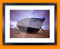 Low Tide 1 Framed Print