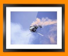 Lynx Westland Plane Framed Print