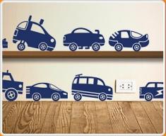 Matchbox Cars Wall Sticker
