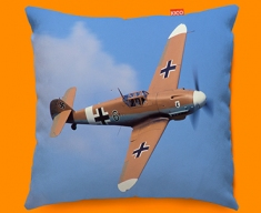 Me 109 Messerschmitt Plane Sofa Cushion
