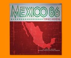 Mexico 86 Flag Napkins (Set of 4)