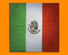 Mexico Flag Napkins (Set of 4)