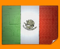 Mexico Flag Poster