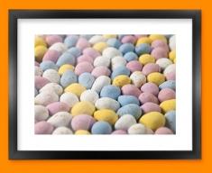 Mini Eggs Framed Print