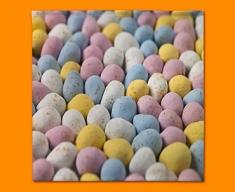 Mini Eggs Napkins (Set of 4)