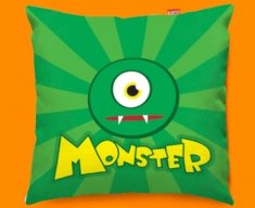 Monster Funky Sofa Cushion 45x45cm