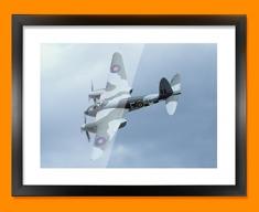 Mosquito de Havilland Plane Framed Print