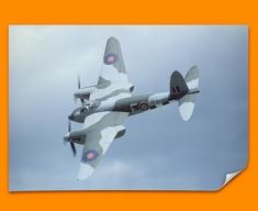 Mosquito de Havilland Plane Poster