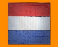Netherlands Flag Napkins (Set of 4)