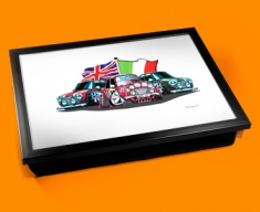 Old Italian Job Cushion Lap Tray