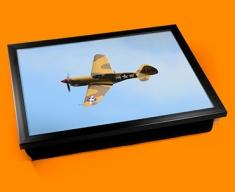 P 40 Warhawk Curtiss Plane Cushion Lap Tray