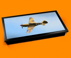 P 40 Warhawk Curtiss Plane Cushion Laptop Tray