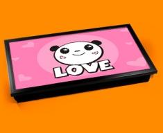 Panda Love Laptop Lap Tray
