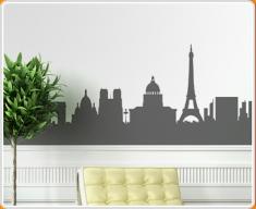 Paris Skyline Wall Sticker