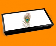 Peackcock Feather Laptop Lap Tray
