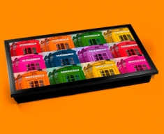 Phone Box Collage Laptop Lap Tray