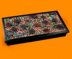 Pine Cones Laptop Lap Tray