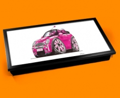 Pink Mini Laptop Lap Tray
