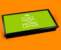 Work Later Keep Calm Laptop Lap Tray