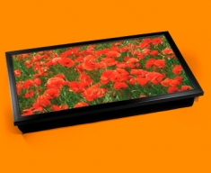 Poppies Laptop Lap Tray