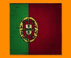 Portugal Flag Napkins (Set of 4)