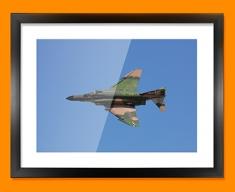 QF 4E Phantom Plane Framed Print