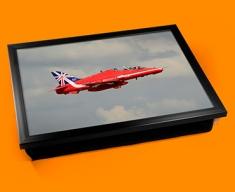 RAF Red Arrows Plane Cushion Lap Tray