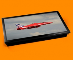 RAF Red Arrows Plane Cushion Laptop Tray