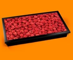 Raspberries Laptop Lap Tray