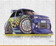 Reno 5 GT Canvas Art Print