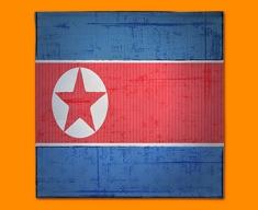 Republic Korea Flag Napkins (Set of 4)